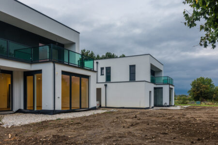 Casa din structura metalica usoara laminata la rece