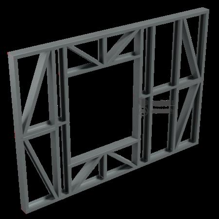 2.0.2-Perete structural cu goluri-alcatuire de principiu