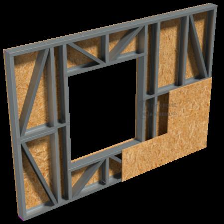 2.0.2- Perete structural-placare cu OSB