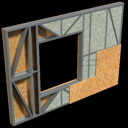2.0.4-Perete cu fibra celulozica_lemn – placare cu OSB pe ambele fete