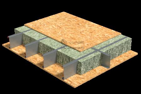 4.2.0 – Detaliu termoizolare planseu cu fibre celulozice