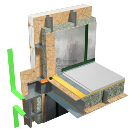 8.6.1 – Planseu – etansare la vapori – folie AV separata pe fiecare nivel_camera