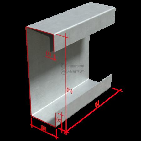 Profil C – dimensiuni