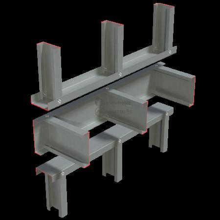 2.1-Detaliu montaj-peretii intrerupti de planseu-preasamblare