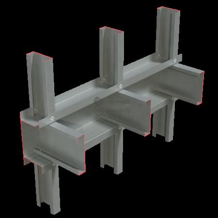 2.2-Detaliu montaj-peretii intrerupti de planseu- asamblat